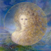 """Melusina"" Fine Art Edition on Canvas by Kinuko Y. Craft"