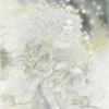 """""""Snow Queen"""" Original Drawing by Kinuko Y. Craft"""
