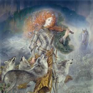 """""""Choral"""" Fine Art Edition on Canvas by Kinuko Y. Craft"""