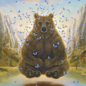 """""""Guru"""" Fine Art Edition on Paper by Robert Bissell"""