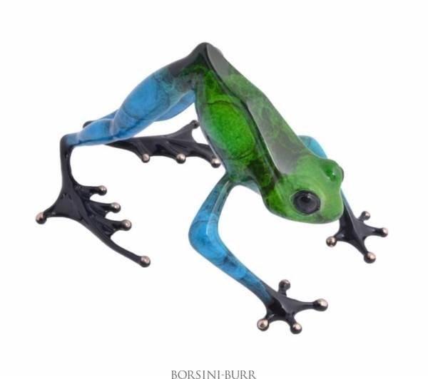 """Namaste"" Bronze Sculpture by Tim Cotterill ""Frogman"""