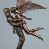 """""""Angel Affair"""" Bronze Sculpture by Michael Parkes"""