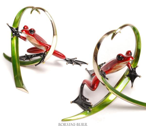 """Arrow"" Bronze Sculpture by Tim Cotterill ""Frogman"""