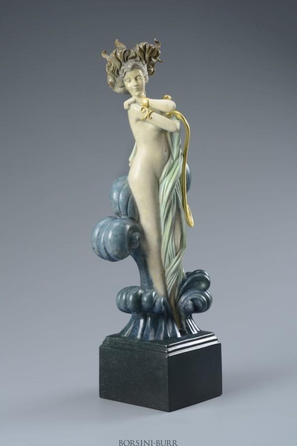 """""""Venus"""" Beauty in Bronze Sculpture by Michael Parkes"""