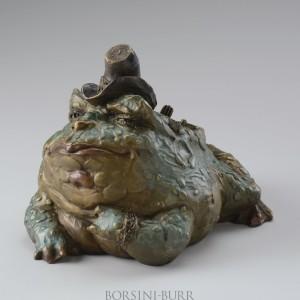 """""""Audie"""" Bronze Sculpture by Lorraine Vail"""