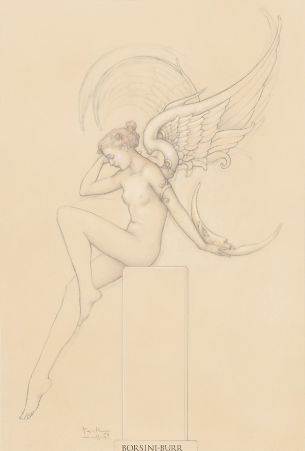 """Moonstruck"" Fine Art Edition on Paper by Michael Parkes"