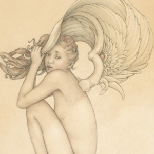 """Summer Storm"" Fine Art Edition on Paper by Michael Parkes"