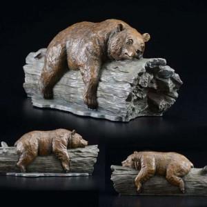"""""""Drifters"""" Bronze Sculpture by Robert Bissell"""