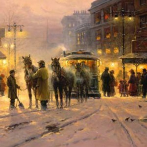 """""""Evening on the Boulevard"""" Fine Art Edition on Paper by G. Harvey"""
