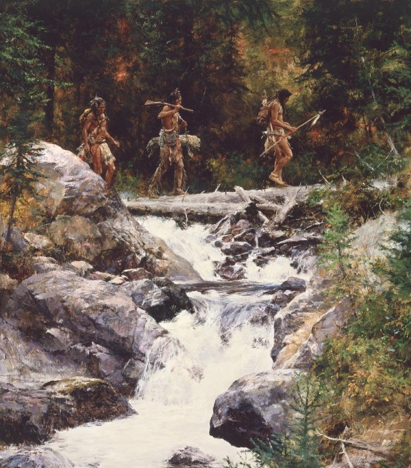 """""""Foot Soldiers"""" Fine Art Edition on Canvas by Howard Terpning"""