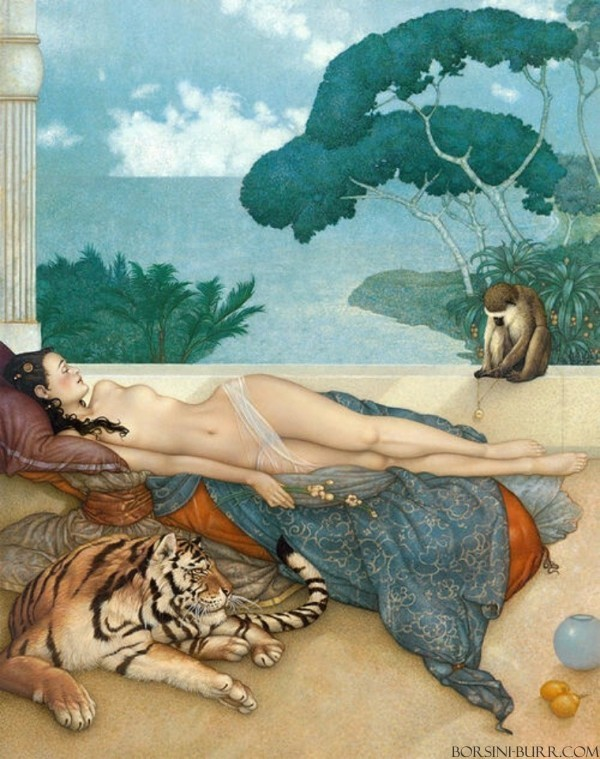 """""""Going Nowhere 2020"""" Fine Art Edition on Canvas by Michael Parkes"""
