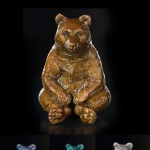 """Guru"" Bronze Sculpture by Robert Bissell"