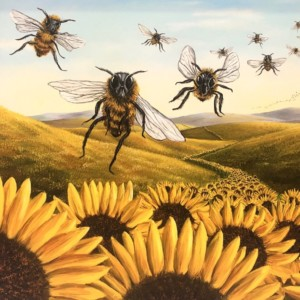"""""""Invaders"""" Fine Art Edition on Canvas by Robert Bissell"""