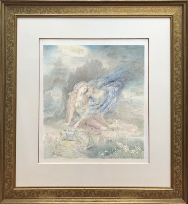 """""""Pandora and Hope"""" Fine Art Edition on Paper by Kinuko Y. Craft"""