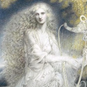 """""""Queen of the Golden Wood"""" Fine Art Edition on Paper by Kinuko Y. Craft"""