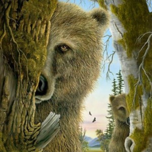"""""""Rangers"""" Fine Art Edition on Paper by Robert Bissell"""