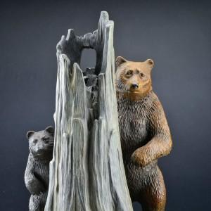 """Rangers"" Bronze Sculpture by Robert Bissell"