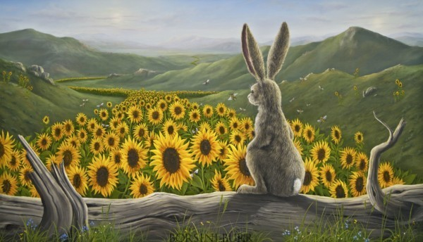 """""""Arising"""" Fine Art Edition on Canvas by Robert Bissell"""