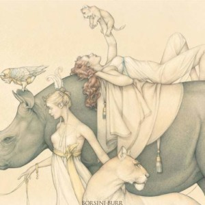 """""""Traveling Circus—2011"""" Fine Art Edition on Paper by Michael Parkes"""