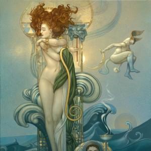 """""""Venus"""" Fine Art Edition on Canvas by Michael Parkes"""