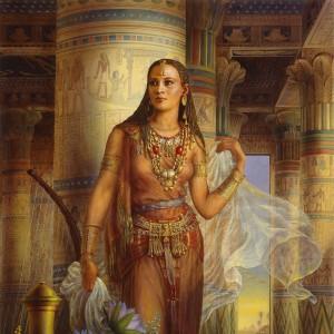 """""""Aida"""" Fine Art Edition on Canvas by Kinuko Y. Craft"""