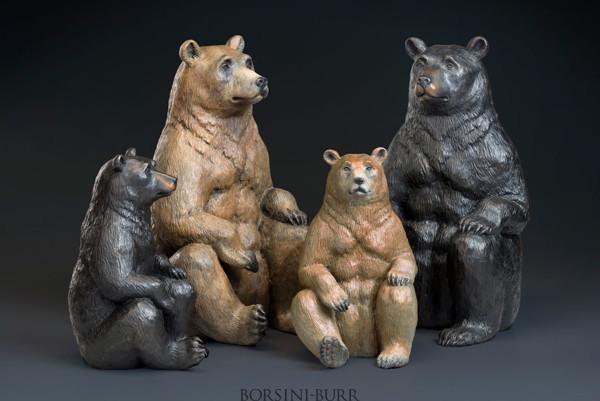 """""""Hero"""" Bronze Sculpture by Robert Bissell"""