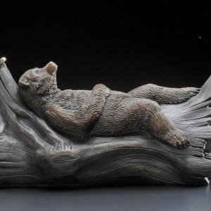 """""""AM"""" Bronze Sculpture by Robert Bissell"""