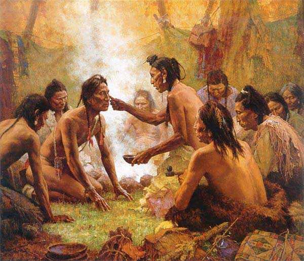 Blessing from the Medicine Man–2001