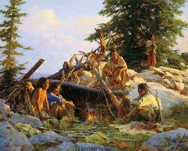 Camp at Cougars Den - 2005