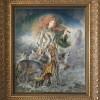 """""""Choral"""" Original Oil on Board by Kinuko Y. Craft"""