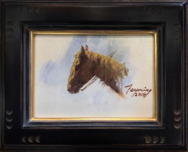 """Ponokáumitaw"" Original Painting by Howard Terpning"