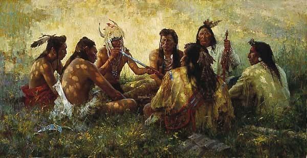 Crow Pipe Ceremony–1997