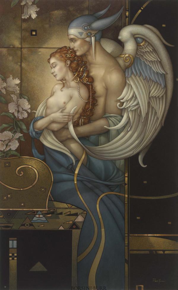 """Deva's Garden"" Fine Art Edition on Canvas by Michael Parkes"