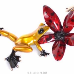 """""""Buzz"""" Bronze Sculpture by Tim Cotterill """"Frogman"""""""