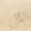 """Angel of Dawn"" Original Drawing by Michael Parkes"