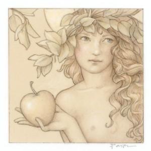 """Jewel - Dilemma"" Fine Art Edition on Paper by Michael Parkes"