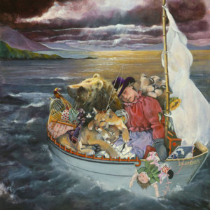 """S.P. Ruckus"" Fine Art Edition on Canvas by Lori Preusch"