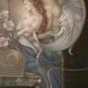 """""""Deva's Garden"""" Original Oil on Canvas by Michael Parkes"""