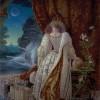 """""""Elizabeth of the New World"""" Original Oil on Board by Kinuko Y. Craft"""