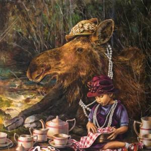 """Pearls"" Fine Art Edition on Canvas by Lori Preusch"