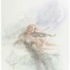 """Siren"" Original Drawing by Kinuko Y. Craft"