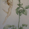 """""""The Rose"""" Original Oil on Canvas by Michael Parkes"""
