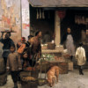 Chinatown Market, San Francisco, 1878