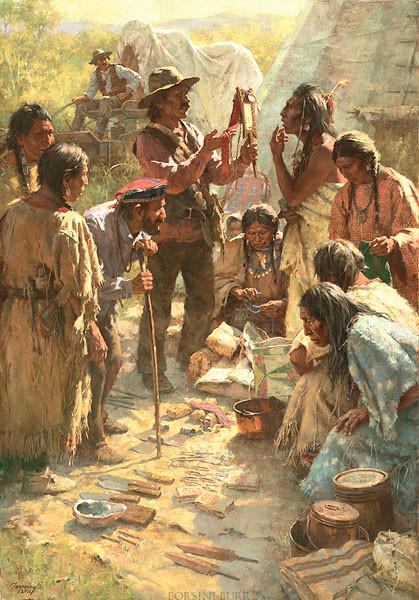 Traders Among the Crow