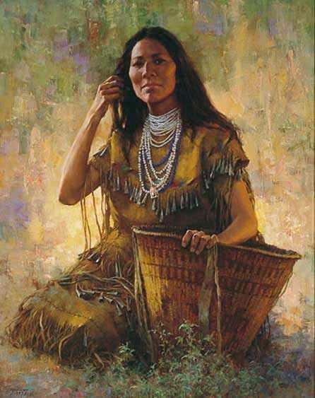Isdzan Apache Woman–1994