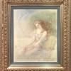 """Pomegranate"" Original Drawing by Kinuko Y. Craft"