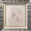"""Artemis"" Original Drawing by Kinuko Y. Craft"