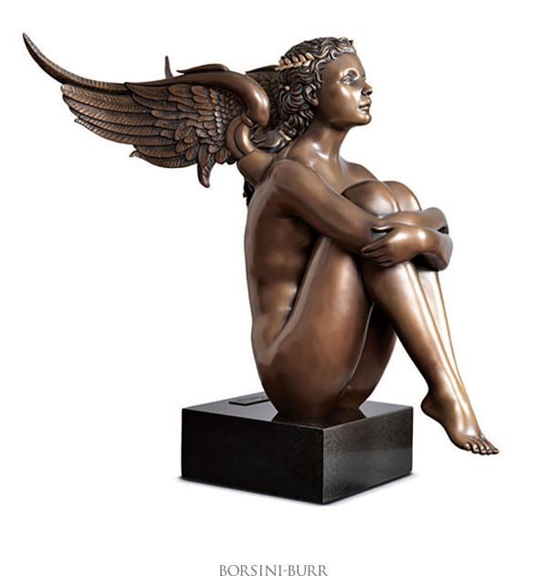 """""""Magic Spring"""" Bronze Sculpture by Michael Parkes"""