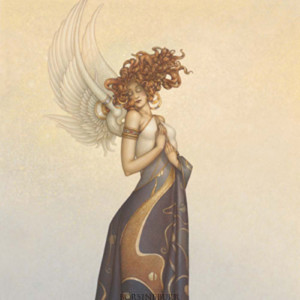 """""""Morning Light"""" Fine Art Edition on Canvas by Michael Parkes"""