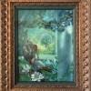 """Mysterious Garden"" Original Oil on Board by Kinuko Y. Craft"